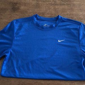 Men's Nike Dri-Fit workout shirt